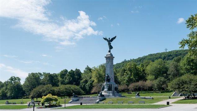 Le mont Royal, à Montréal