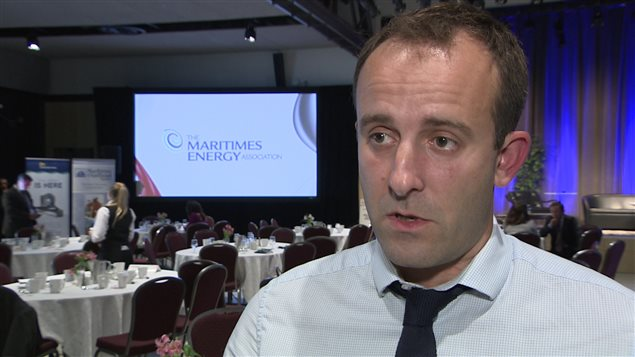 Jeremy Poste, directeur d'Open Hydro