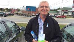 Le candidat NPD de Gaspésie—Les Îles-de-la-Madeleine, Philip Toone