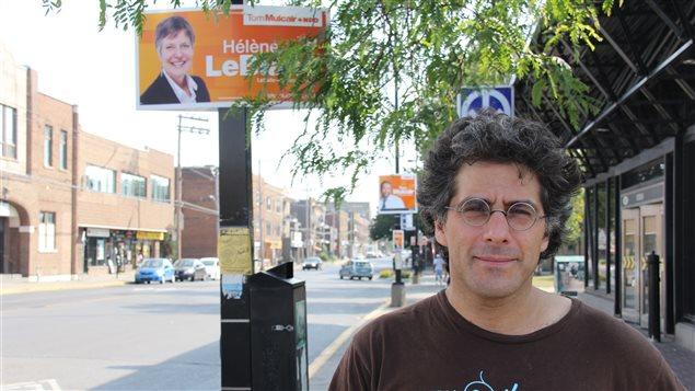 Jean-Philippe Warren, professeur de sociologie à l'Université Concordia