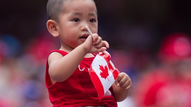 Canadians over the age of 65 now make up 16.1 per cent of the country's population as of July 1, 2015. Little ones, like this proud Canadian, are fewer, for the first time in Canadian history.