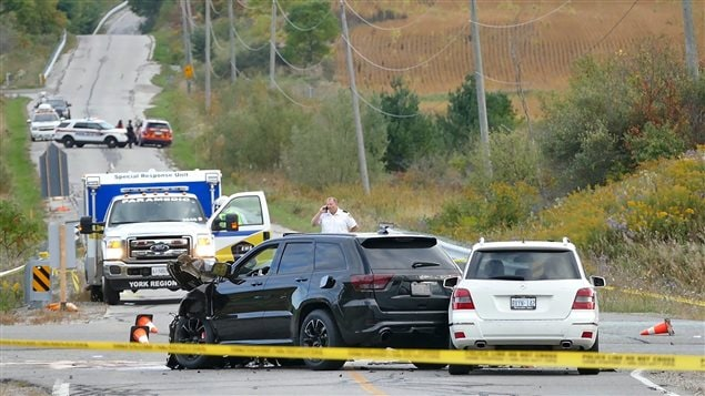 A three-car accident claimed the lives of three young children and their grandfather on Sept 27, 2015. An 29-year old man faces several charges of impaired driving.