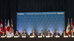 Conférence de presse à Hawaï dans le cadre des négociations sur les termes du Partenariat transpacifique