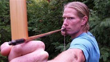 Jamie McDonald of Powell River British Columbia has made his company Ravenbeak Natureworks into one of the best known traditional longbow makers in the world