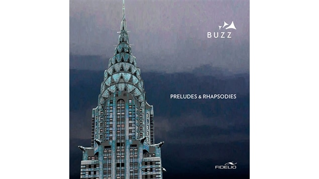 La pochette de <i>Préludes et rhapsodies</i> de Buzz, paru sous étiquette Fidelio