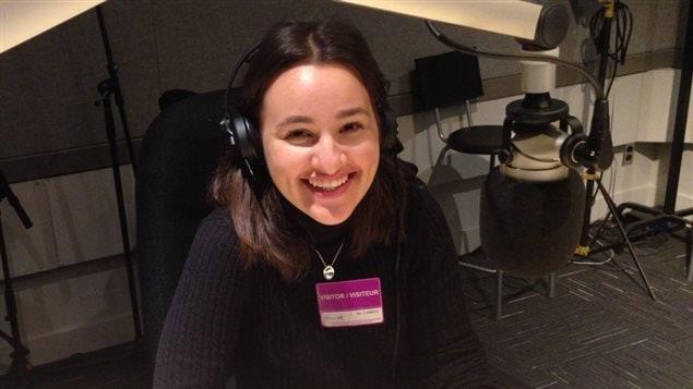 Lisa Nanoff, participante au projet