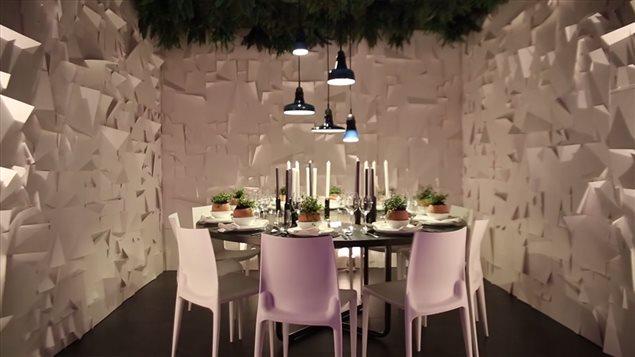 Un Des Decor Propose Dans Levenement Dinner By Design De Vancouver