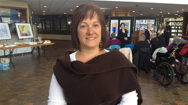 Thérèse Mullin, coordonnatrice des foyers de l'Arche à Sudbury.