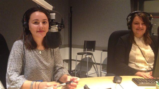 Lisa Nanoff et Nadia Edwards, deux participantes à