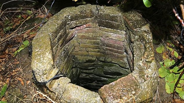 The well near the blockhouse still in use today. During the Gallipoli Campaign many wells were polluted with animal and human remains to prevent the British from getting fresh water.