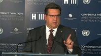 Eaux usées : le maire Coderre dénonce la«manœuvre politique» des conservateurs