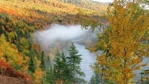 Vallée de la rivière Montmorency, Sainte-Brigitte-de-Laval