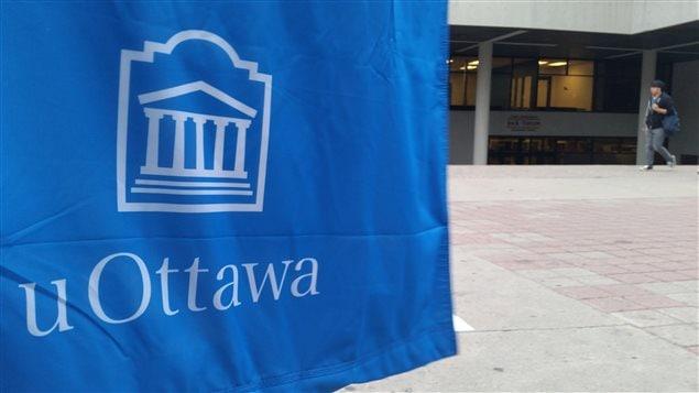 Le campus de l'Université d'Ottawa