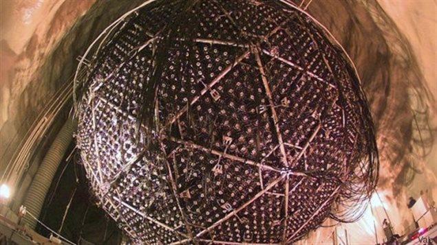 Le SNO serait ainsi capable de détecter une supernova qui exploserait dans notre Galaxie. Wikipédia