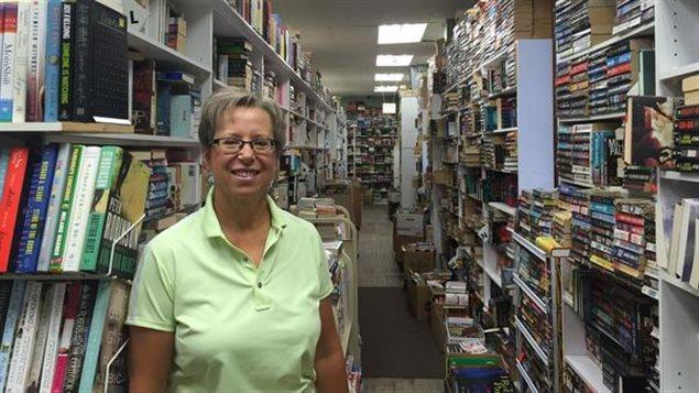 Anne Bouffard, propriétaire de Bay Used Books.