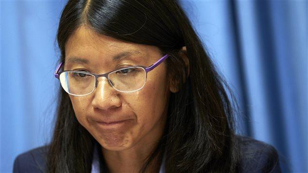 Joanne Liu, présidente de MSF