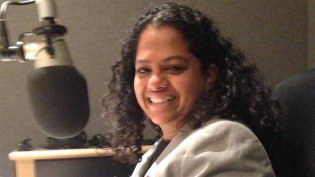 La candidate néo-démocrate dans Etobicoke-Centre Tanya De Mello.