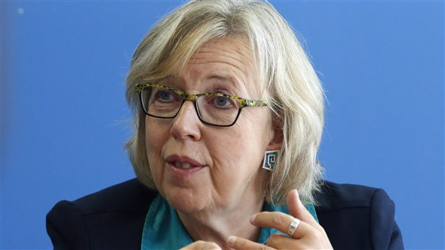 Green Party leader Elizabeth May told party supporters she wants to restore science to the core of decision-making by the government of Canada.