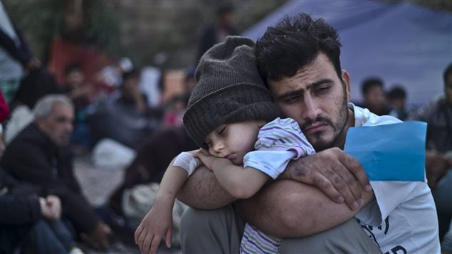 The United Nations vets and refers Syrian refugees like these for resettlement, but Canada's prime minister ordered his own staff to vet them again, reports a national newspaper.