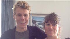 Guillaume et Aurore, deux jeunes belges qui traversent le Canada.