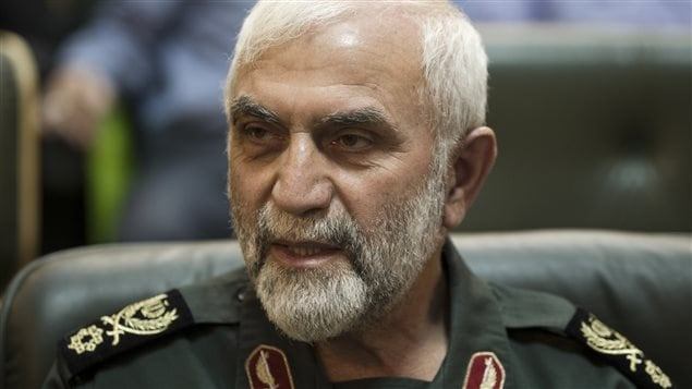 Le général Hossein Hamadani en 2011