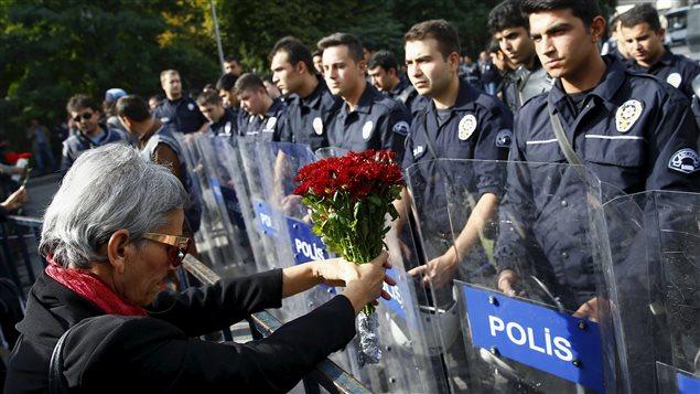 Journée de deuil à Ankara, sous haute tension