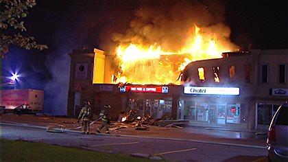 Un salon de bronzage ravag par les flammes gatineau for Ouvrir un salon de bronzage