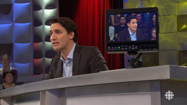 Justin Trudeau à «Tout le monde en parle»