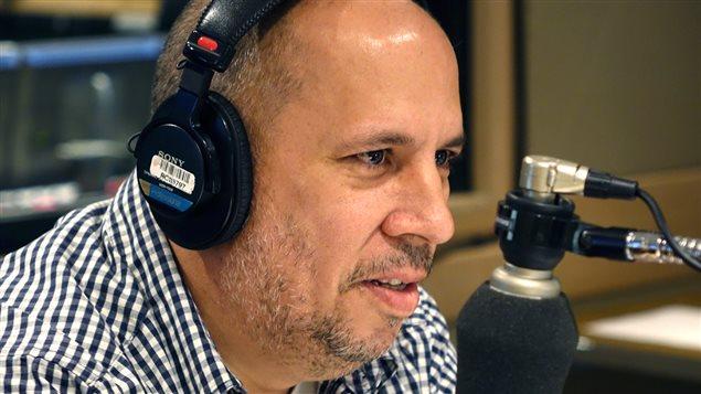 L'ex-syndicaliste Ken Pereira au micro d'Alain Gravel