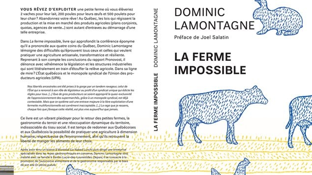 Couverture de La ferme impossible