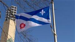Le drapeau franco-albertain