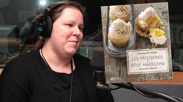 Véronique St-Pierre, auteure de <em>Les pâtisseries de Rose Madeleine, 50 recettes véganes</em>