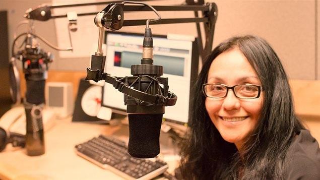 Lucila Guerrero en nuestros estudios