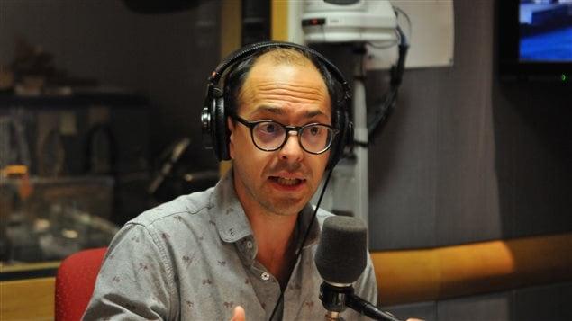 Xavier Brouillette est professeur de philosphie au Cégep du Vieux-Montréal