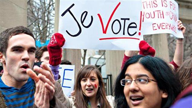 26,5 millions d'électeurs sont inscrits au Canada sur les listes électorales