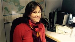 La codirectrice du Salon du livre du Grand Sudbury, Sylvie Lessard.