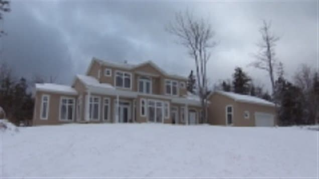 House of a band councillor in Nova Scotia. In 2013 two members of the Indan Brook band were charged with skimming about $170,000 from band funds.