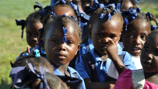 Des enfants haïtiens
