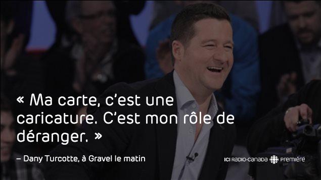 Extrait de l'entrevue de Dany Turcotte avec Alain Gravel, le 15 octobre 2015