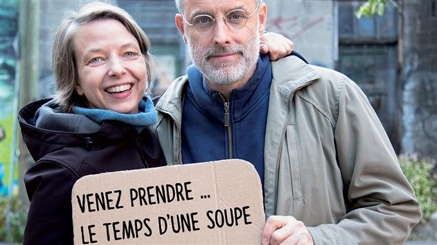 Les fondateurs de l'Action terroriste socialement acceptable (ATSA), Annie Roy et Pierre Allard
