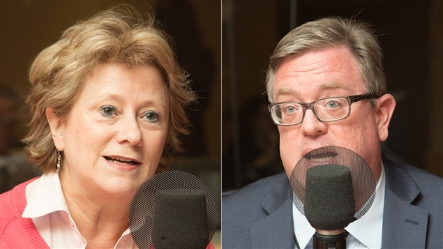 Gyslaine Desrosiers et Michel Kelly-Gagnon