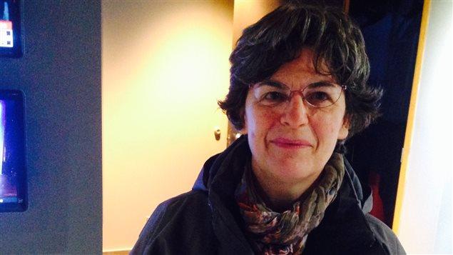 L'animatrice Catherine Rixhon de Patamusique.