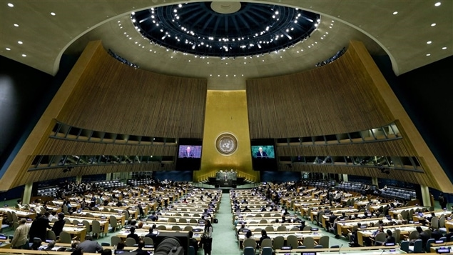 L'assembl�e g�n�rale des Nations Unies