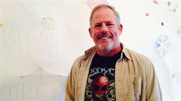 L'artiste, Ron Loranger.