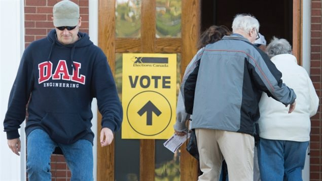 The biggest voter turnout is often among those between 65 and 74 years old. 78.8 per cent of those eligible cast ballots in the October 2015 federal election.