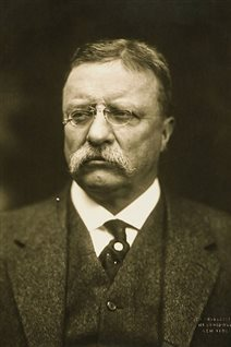 Teddy Roosevelt, US President, apparently told his negotiators to