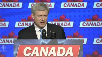 Outgoing Prime Minister Stephen Harper will step down as leader of the Conservative Party after voters swept him out of office.