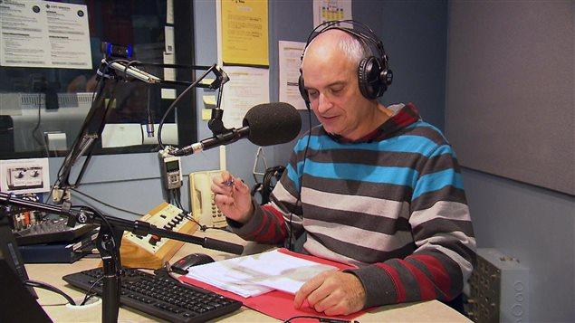 Marcel Masolais, enseignant en science politique au Cégep de Baie-Comeau