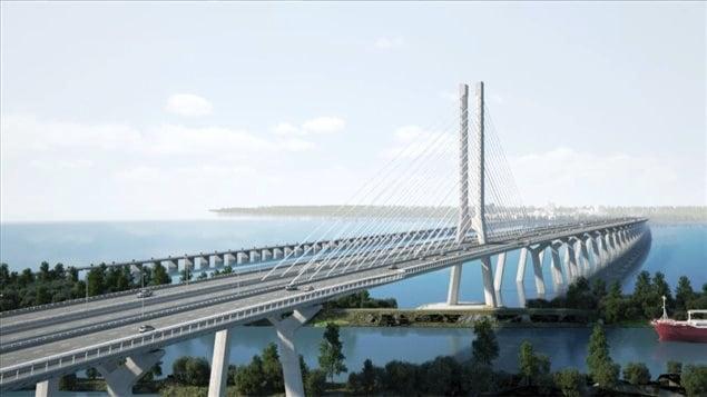 Le futur pont Champlain