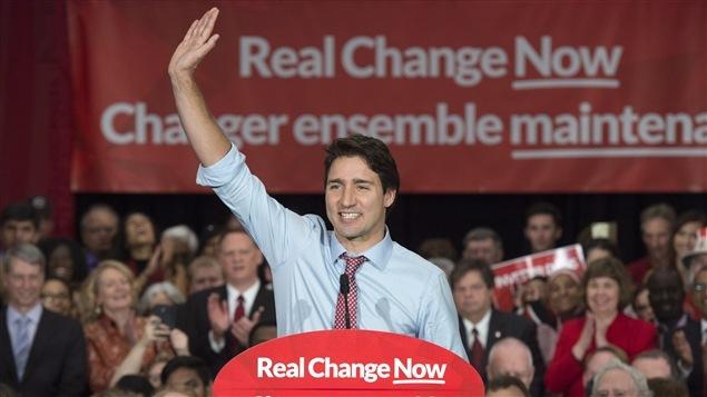 Justin Trudeau au lendemain de son élection